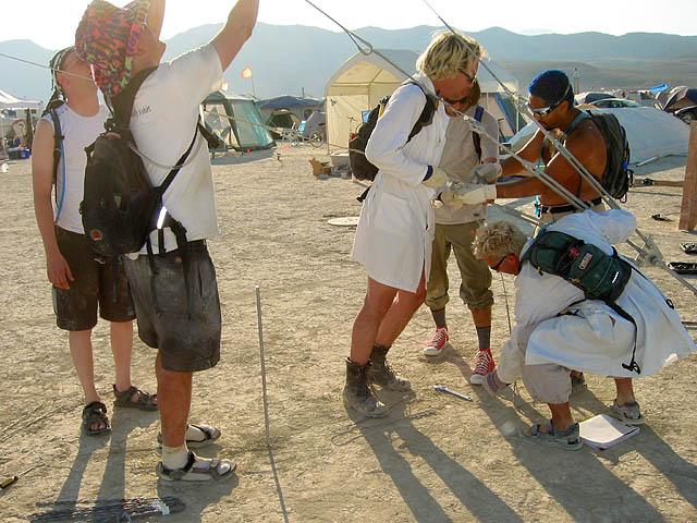 Camp   Burning Man 2002