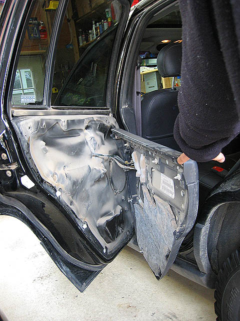 Jeep Grand Cherokee Wj Sticky Power Door Locks