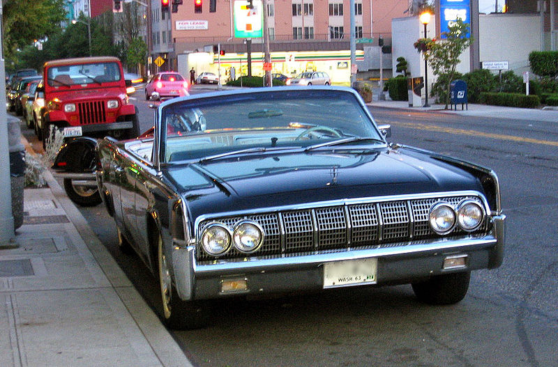 1964 lincoln continental convertible. Black Bedroom Furniture Sets. Home Design Ideas