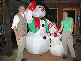 Hotel Sueño Azul - Christmas Snowman - Ken Laura (Dec 27, 2005 7:43 AM)