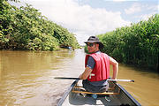 Caño Negro - Canoe Trip - Geoff (photo by Laura) (Dec 29, 2005)