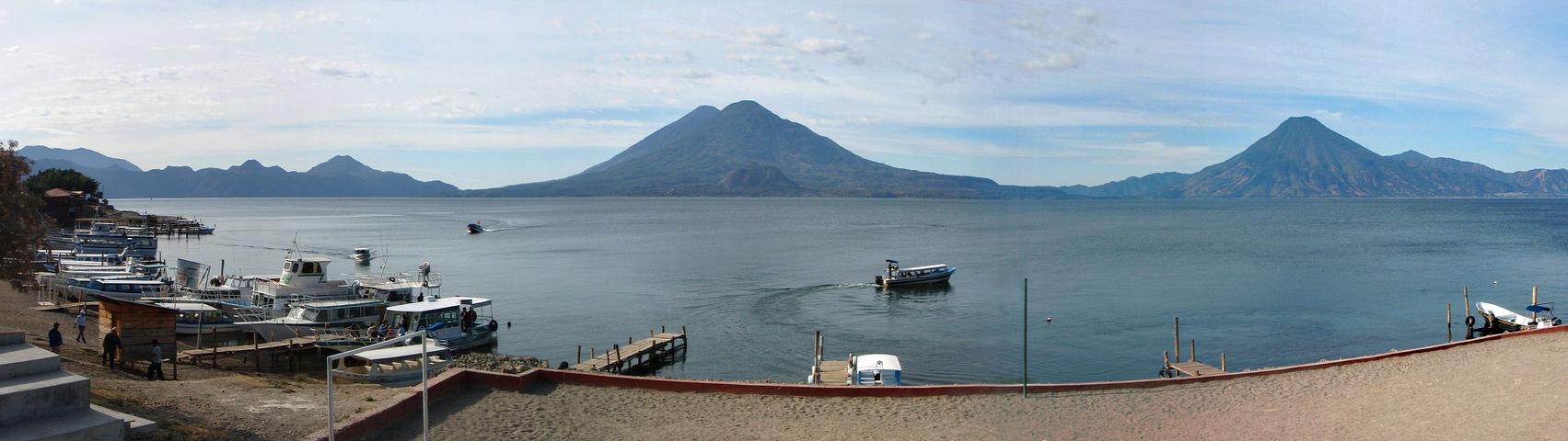 Panajachel y Lago de Atitlán en Guatemala