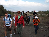 Pacaya - Volcano - Kids Selling Horse Rides - Laura (They rode up with us for almost a mile.)