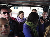 Trip to Fuentes Georginas - Hot Springs - Inside Our Little Microbus - Geoff