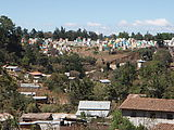 Chichi (Chichicastenango) - View of Colorful Cemetery