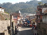 Chichi (Chichicastenango) - Looking South into Market