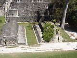 Tikal - Pyramid Ruin - Ball Court in Great Plaza