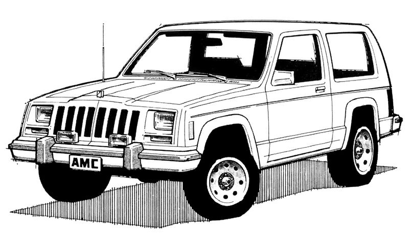 Line Drawing Jeep : D cad drawing of a jeep wrangler