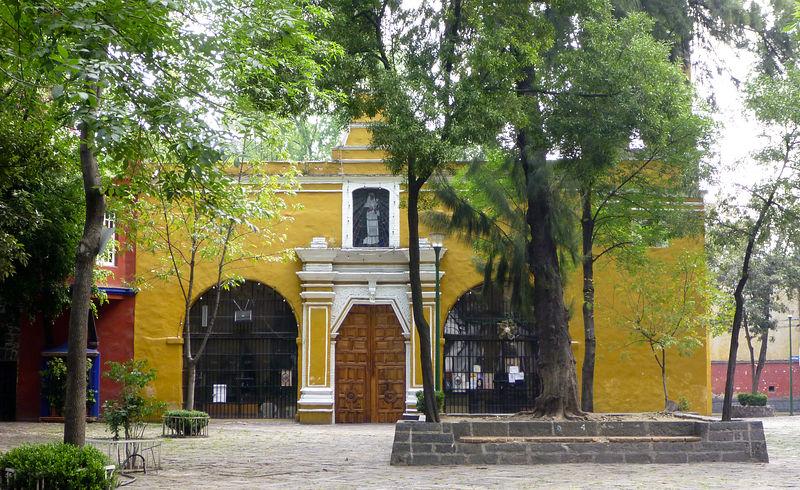 Coyoacan plaza santa catarina