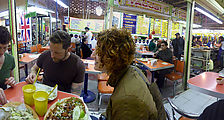 Market - La Merced - Mercado San Camilito - Food - Huaraches - Robert - Rose