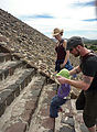 Teotihuacan - Pyramid of the Sun - Rose - Lyra - Robert
