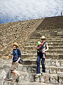 Teotihuacan - Pyramid of the Sun - Rose - Lyra - Laura