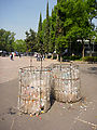 Chapultepec Park - Plastic Bottle Trash Cans