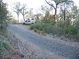 Tequila - Camping Microwave Tower Road - Cobblestone Road - Sportsmobile - Campsite