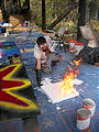El Bosque - Brian Painting - Fire
