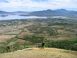 Lake Pátzcuaro - View from the top of El Estribo (photo by Brian)