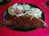 Restaurante Casa Grande - Whole Fried Fish (photo by Lars)