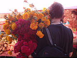 Eronga - Market - Flowers - Brian (photo by Lars)
