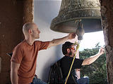 Eronga - Franciscan Monastery - Bell Tower - Geoff, Brian (photo by Lars)