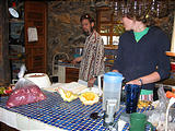 Rancho Madroño - Fresh Veal - Cooking - Brian, Marie (photo by Geoff)