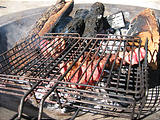 Rancho Madroño - Fresh Veal - Cooking (photo by Geoff)