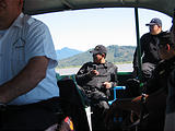 Lake Pátzcuaro Boat - Police (photo by Geoff)