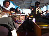 Lake Pátzcuaro Boat - Musicians (photo by Geoff)