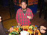 Night of the Dead - Pátzcuaro - Beto's Mariscos - Restaurant - Brian (photo by Geoff)
