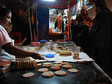Night of the Dead - Pátzcuaro - Pancake like things (photo by Geoff)