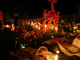 Night of the Dead - Arocutin - Cemetery (photo by Marie)