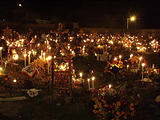 Night of the Dead - Arocutin - Cemetery (photo by Lars)