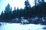 Camping - Umatilla National Forest - Near Dale OR - Sportsmobile