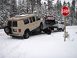 Breakdown - Sportsmobile - Tow Truck
