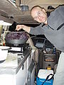 Steens Mountain Recreation Lands - Camping - Cooking in the Sportsmobile - Sportsmobile - Geoff - We Like Kale!