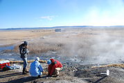 Alvord Hot Springs - Researchers