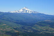Deschutes National Forest - Oregon - Green Ridge - Mount Jefferson