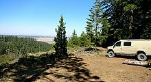 Deschutes National Forest - Oregon - View Campsite - Sportsmobile