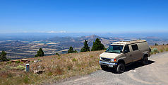 Grizzly Mountain - Oregon - Peak - View from Top - Road - Sportsmobile