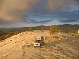 Sportsmobile: Top of Bald Mountain, CA