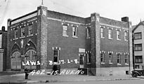 (1937) 15th & Harrison - Fire Station - Engine Company Seven - Side