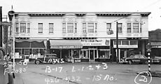 (1950) 426-432 15th Ave E - Jamieson Drugs, Childs Hardware, Hair Salon