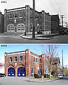 Before & After (1921 & 2008) - 15th & Harrison - Fire Station - Engine Company Seven - Front