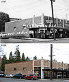 Before & After (1937 & 2009) - 401-405 15th Ave E - Piggly Wiggly Market - Tilden, 22 Doors