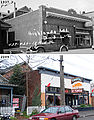 Before & After (1937 & 2009) - 429 15th Ave E - Beauty Salon, Mrs. B's Electric Bakery - Coastal Kitchen