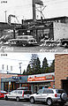 Before & After (1955 & 2009) - 411-415 15th Ave E - Hill Top Cafe, Philco, Superb Cleaners - Victrola, Superb Cleaners