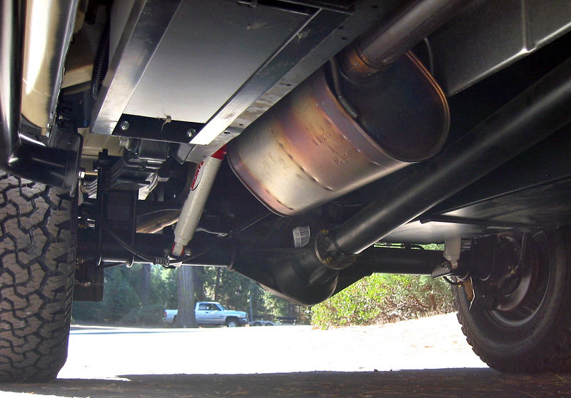 What Is The Stock Exhaust On The 6 8l V10 Sportsmobile Forum