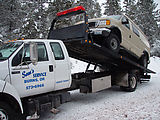 Sportsmobile: Breakdown (fuel pump) - Tow Truck