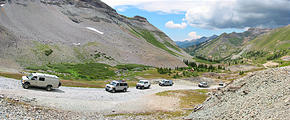 Sportsmobile Rally - Tuesday Trip - Imogene Pass - Tomboy Mine