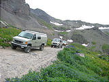 Sportsmobile Rally - Tuesday Trip - Imogene Pass