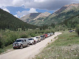 Sportsmobile Rally - Thursday - Alpine Loop - Cinnamon Pass